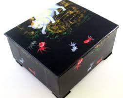 Decorative Cat Box Decorative Box Etsy