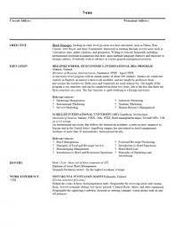 Job Resume Format Word Document Resume Template Format In Word Document Free Download For Job