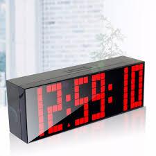 lighted digital wall clock modern lighted digital wall clock 5 illuminated digital wall clock
