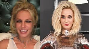 britney spears responds to katy perry u0027s mental health joke from