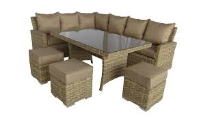 rattan dining set with caster chairs corinthian rattan wicker