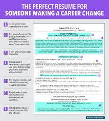 Bussiness Resume Career Change Resume 2 Sample For A Uxhandy Com
