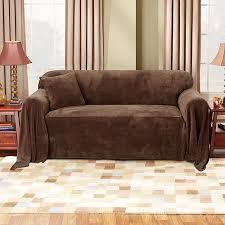 Plush Sofa Bed Mainstays Plush Sofa Furniture Throw Walmart Com