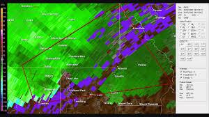 Florida Tornado Map by Doppler Radar Tornado Warning Lake County Florida Feburary 02