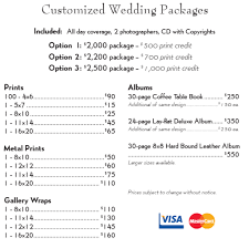 wedding photography prices wedding photography print prices tbrb info