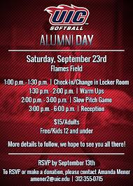 Invitation Cards For Alumni Meet The Official Website Of Uic Flames Athletics