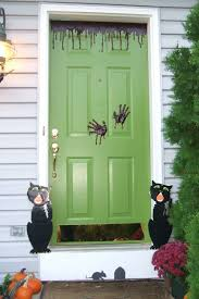 decorating your front entry for halloween flora brothers painting