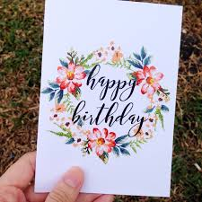 happy birthday card print card printing happy birthday cards