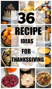 36 thanksgiving recipe ideas made sweeter