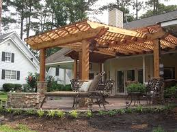 decor pictures of pergolas and building a awning over a deck