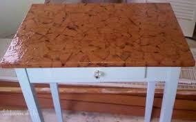Paper Table L 57 Paper Bag Table Top Diy On Pinterest Afghans Storage Benches