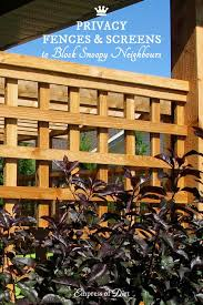 Privacy Screen Ideas For Backyard Privacy Fence U0026 Screen Ideas For The Garden Empress Of Dirt