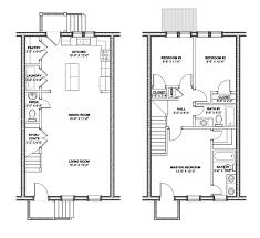 baltimore row home floor plans