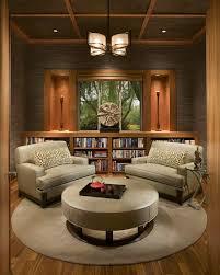 symmetrical design modern asian inspired sitting room interior