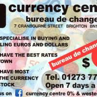 cen bureau de change currency centre brighton bureaux de change foreign exchange