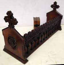 english ecclesiastical book trough in the gothic style english