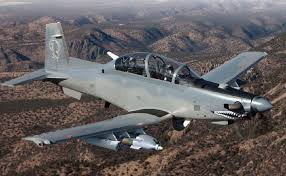 at 6 light attack aircraft beechcraft will be bringing an aircraft they ve never displayed at