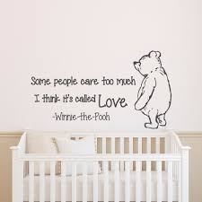 wall decals quotes winnie the pooh wall decal quote some
