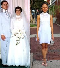 wedding rehearsal dress rework your s wedding dress to wear yourself instyle