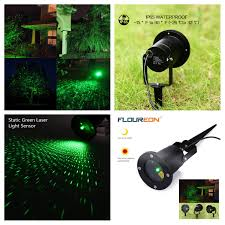 Christmas Lights Projector by Outdoor Green Static Starry Laser Projector Laser Lawn Light For