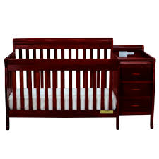 Cherry Convertible Crib Cherry Convertible Crib W Changer By American Furniture