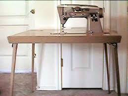 Singer Sewing Machine Desk Singer Card Table For 400 U0026 500 Series And Model 301 Sewing Machines