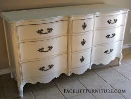 White Distressed Bedroom Furniture by Distressed Antiqued White French Provincial Dresser Facelift