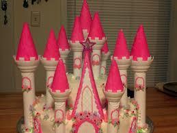 my daughters princess cake thanks to wilton castle kit time