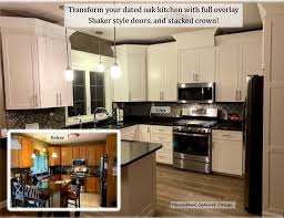 oak shaker style kitchen cabinet doors oak cabinets do this homestead cabinet design