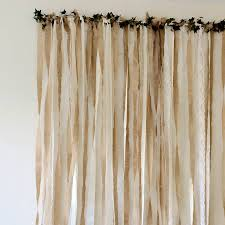 hessian and lace wedding backdrop by just add a dress
