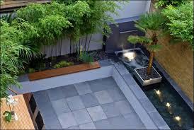 landscaping benches small urban garden design small modern garden