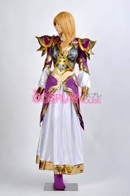 Warcraft Halloween Costume Warcraft Lady Jaina Proudmoore Cosplay Costume Version