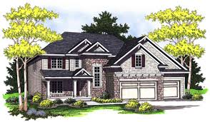 Home Plans With Front Porch European Home Plan With Columns On Front Porch 89241ah
