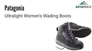 patagonia s boots patagonia ultralight s wading boots demonstration and review