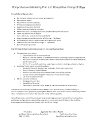 Machine Operator Job Description For Resume by How To Comprehensive Marketing Plan U0026 Competitive Pricing Strategy