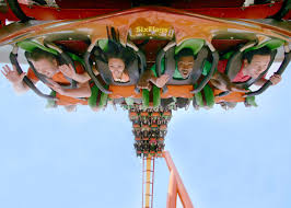 Six Flags X2 9 Of The Best Rides At Magic Mountain