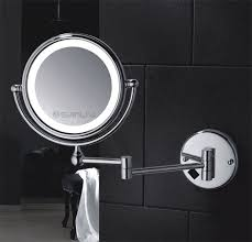 bathroom magnifying mirror with light best functions of lighted magnifying makeup mirrors bathroom