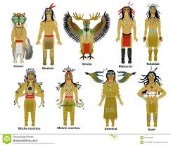 native american masks stock images image 34230094
