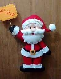 diy felt santa claus ornaments free pattern template would