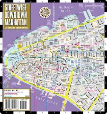 Downtown Manhattan Map Streetwise Manhattan Map Coloring Coloring Pages