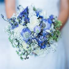 blue wedding bouquets blue wedding bouquet flowers wedding corners