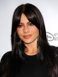 short hairstyles with center part and bangs 33 sofia vergara hairstyles no short hair here page 1 of 2