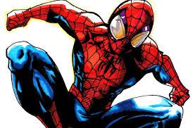 drawn spiderman ultimate spiderman pencil color drawn