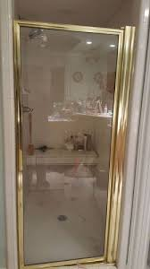 My Shower Door Can I Paint My Gold Tone Shower Door Metal Hometalk