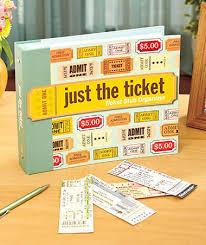 ticket stub album ticket stub organizer album ltd commodities