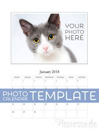 free photo calendar template for 2018 2019 for ms word