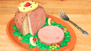thanksgiving cookies recipe 3d ham cake thanksgiving cake from cookies cupcakes and cardio