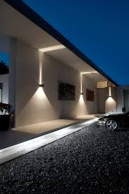 lighting ideas dramatic outdoor lighting designs in brick house