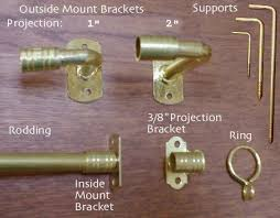 Curtain Rod Brackets Lowes Incredible Best 25 Curtain Rods Online Ideas On Pinterest Bronze