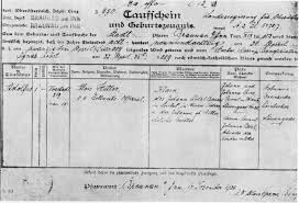 hitler born religion photo of the birth certificate of hitler axis history forum